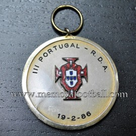 Portugal vs RDA 19-02-1986