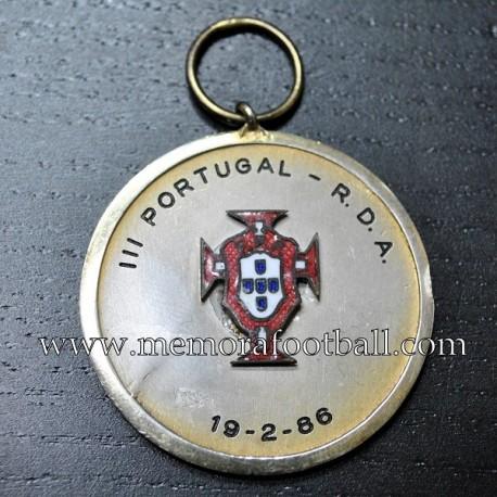 Portugal vs RDA 19-02-1986
