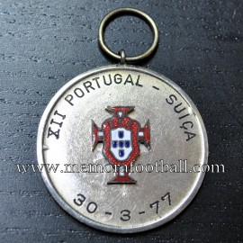 Portugal vs Suiza 30-03-1977