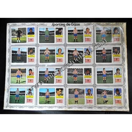 Sporting de Gijón 1973-74 cards