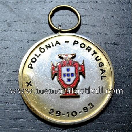 Polonia vs Portugal 28-10-1983