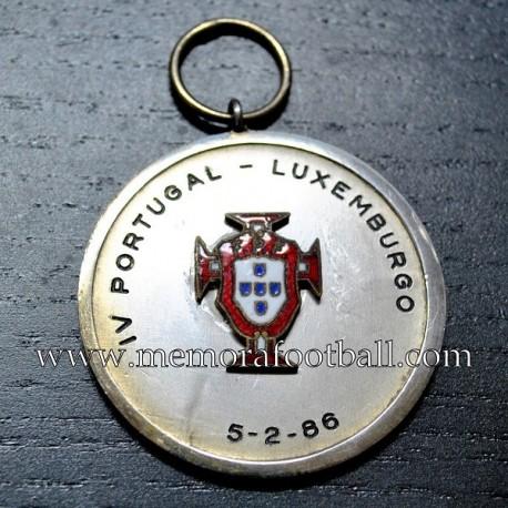 Portugal vs Luxemburgo 05-02-1986