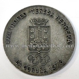 Real Madrid 1978 Teresa Herrera Trophy Medal