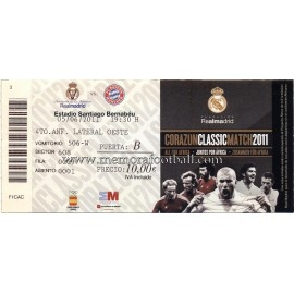 "Real Madrid vs Bayern München ""Corazón Classic Match 2011"""