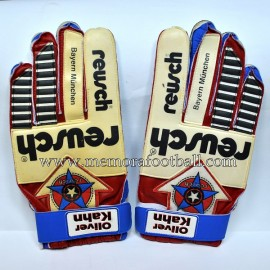 OLIVER KHAN 1995 match gloves