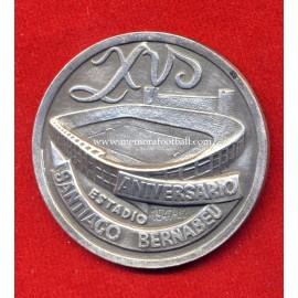 Medalla Real Madrid 60 Aniversario Estadio Santiago Bernabéu 15 Aniversario 1962