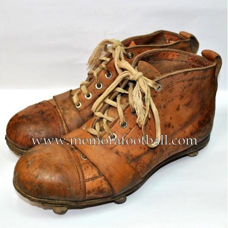 Botas de Fútbol 1930s Francia - Memora Football b90467f719e8e