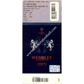 2011 UEFA Champions League Final ticket