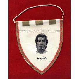 VELAZQUEZ - Real Madrid CF - 1960s Mini pennant
