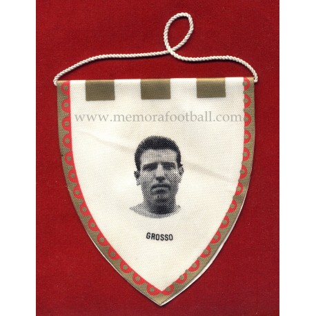 GROSSO - Real Madrid CF - 1960s Mini pennant