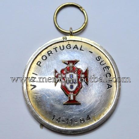 Portugal vs Suecia 14-11-1984