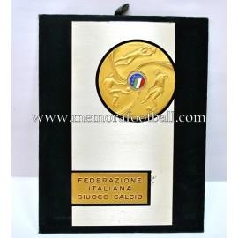 Placa de la Federazione Italiana Giuoco Calcio 1990s