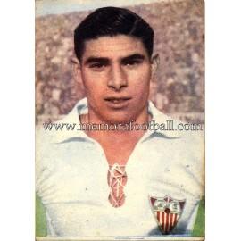 """""""HERRERA II"""" Sevilla CF 1950-52 cromo"""
