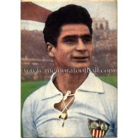 """""""RAMONÍ"""" Sevilla CF 1950-52 cromo"""