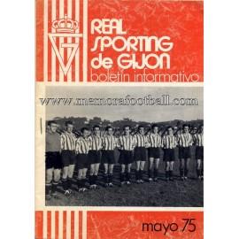 Boletín Informativo Sporting de Gijón 1975