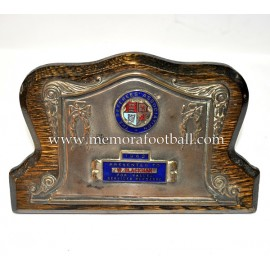 "Placa ""THE REFEREES´ASSOCIATION"" 1962"