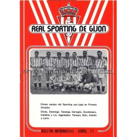 """Sporting de Gijón"" 1977 newsletter"