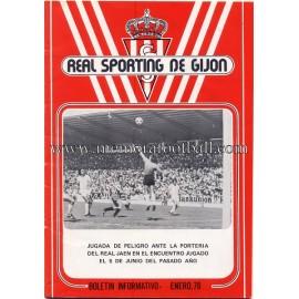 Boletín Informativo Sporting de Gijón 1978