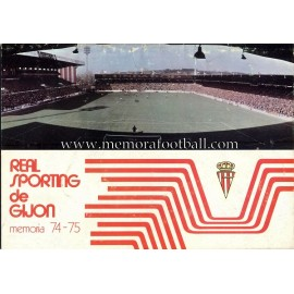 Sporting de Gijón 1974/75 Annual Report
