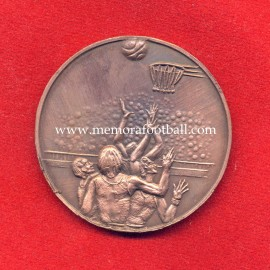 Real Madrid v Cibona Zagreb European Cup Winner's Cup Basketball Final 1982 commemorative bronze medal