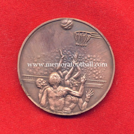 Real Madrid v Cibona Zagreb European Cup Winner's Cup Basketball Final 1982 commemorative medal