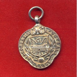British Silver Football medal Bedford & Dist Football League