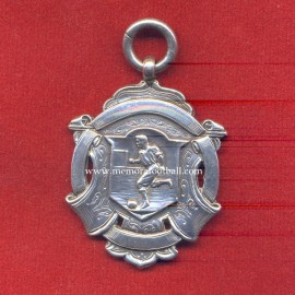 1904 British Silver Football Medal. V&S-ANCHOR-LION-E