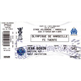Olympique de Mardeillle vs FC Twente 19-02-2009 UEFA Cup