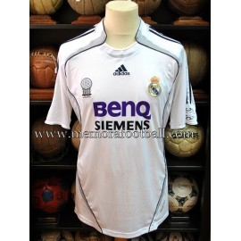 """IVÁN HELGUERA"" Real Madrid CF 2006-07 LFP match worn shirt"