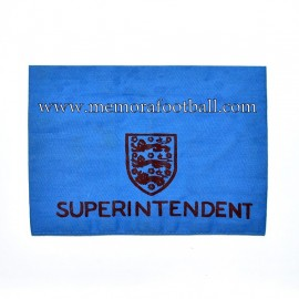 Superintendent Armband 1960-70s United Kingdom
