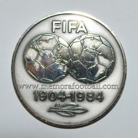FIFA 1904-1984 Anniversary Match Medal