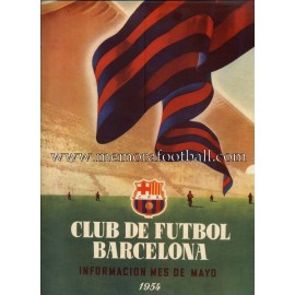Boletín CF Barcelona nº3 Mayo 1954