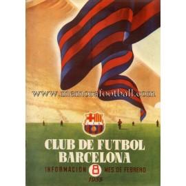 Boletín CF Barcelona nº8 Febrero 1955
