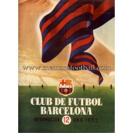 Boletín CF Barcelona nº12 1955