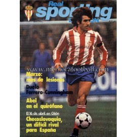 """Revista Real Sporting de Gijón"" Nº2 1980"