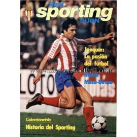 """Revista Real Sporting de Gijón"" Nº3 1980"