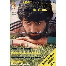 """Revista Real Sporting de Gijón"" Nº4 1980"