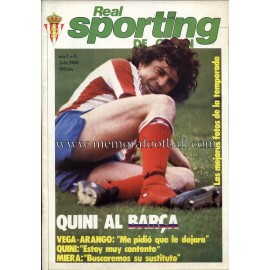 """Revista Real Sporting de Gijón"" Nº5 1980"