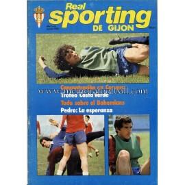 """Revista Real Sporting de Gijón"" Nº6 1980"