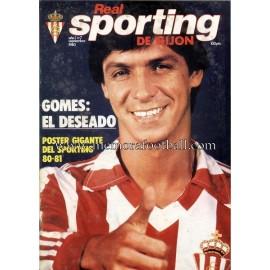 """Revista Real Sporting de Gijón"" Nº7 1980"