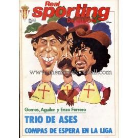 """Revista Real Sporting de Gijón"" Nº9 1980"