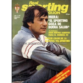 """Revista Real Sporting de Gijón"" Nº10 1980"