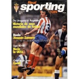 """Revista Real Sporting de Gijón"" Nº12 1981"