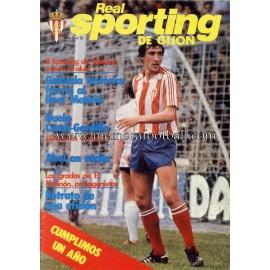 """Revista Real Sporting de Gijón"" Nº13 1981"