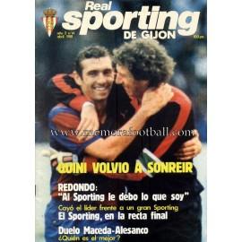 """Revista Real Sporting de Gijón"" Nº14 1981"