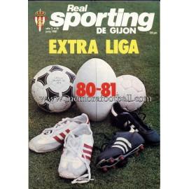 """Revista Real Sporting de Gijón"" Nº16 1981"