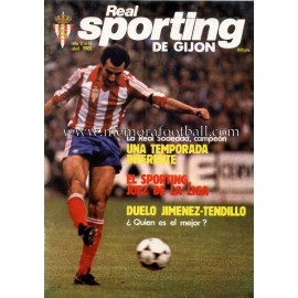 """Revista Real Sporting de Gijón"" Nº15 1981"