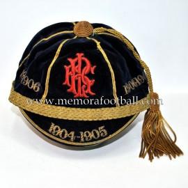R.I.F.C. 1904-5 1905-6 1906-7 Fútbol cap
