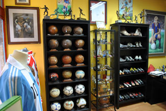 Interior tienda Memorafootball