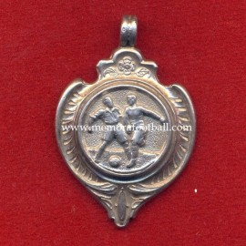 Sterling Silver Football Medal, England circa 1920